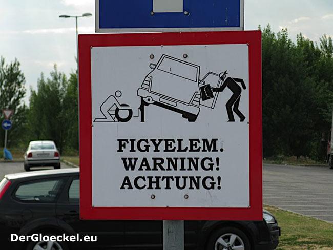 Warnung für Fahrzeuglenker anstelle effizienter Verbrechensbekämpfung