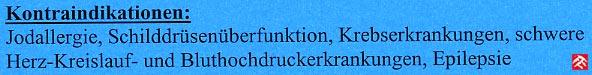 """Faksimile aus der Gästeinformation zum Thema BÄDER - berichtigt mit """"Kontraindikationen"""""""