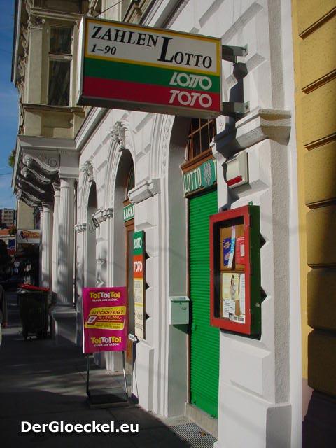 In dieser Lottokollektur in Wien gewinnt der Spieler mit Garantie
