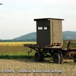 Rüstungsindustrie - Test einer mobilen Abschußrampe