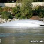 Jetski auf der Donau