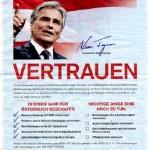 Faymann in der Kronen Zeitung am 24.12.09