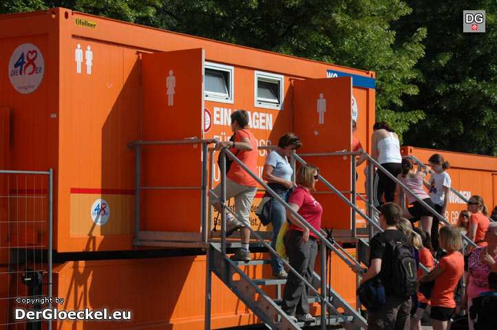 Momentaufnahme am Österreichischen Frauenlauf 2011