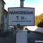 Parkplatzgebühr in Hainburg an der Donau