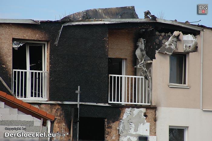beträchtlicher Schaden bei Hotelbrand in Wolfsthal | Foto: DerGloeckel.eu