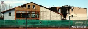 Die schweren Schäden an dem Gebäudekomplex des Hotels in Wolfsthal | Foto: DerGloeckel.eu